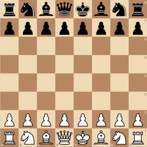 schach lernen - aufstellung