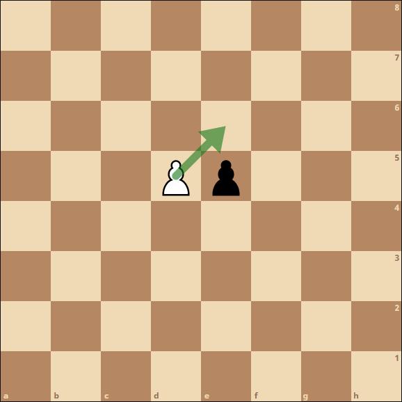 Schach - En Passant Schlagen