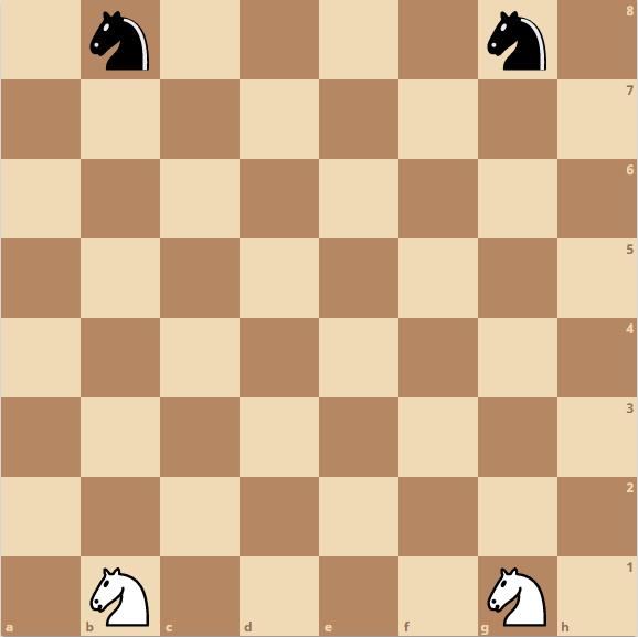 Schach Springer - Position