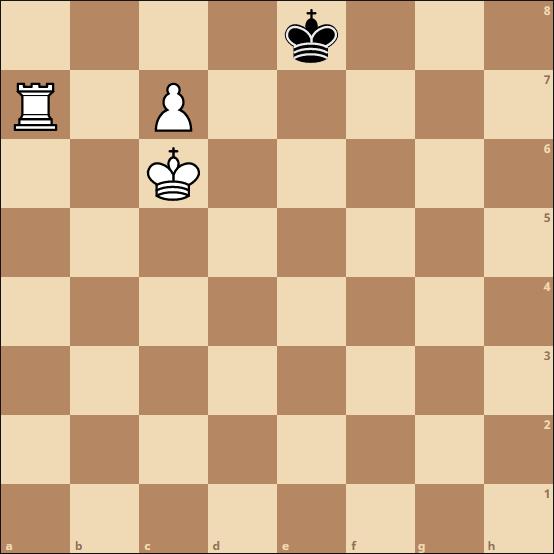 Schach Umwandlung - Matt