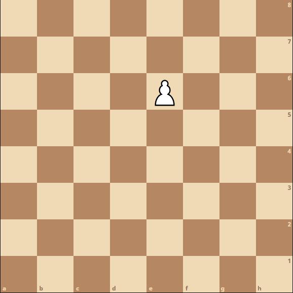 Schach - En Passant Schlagen Endposition