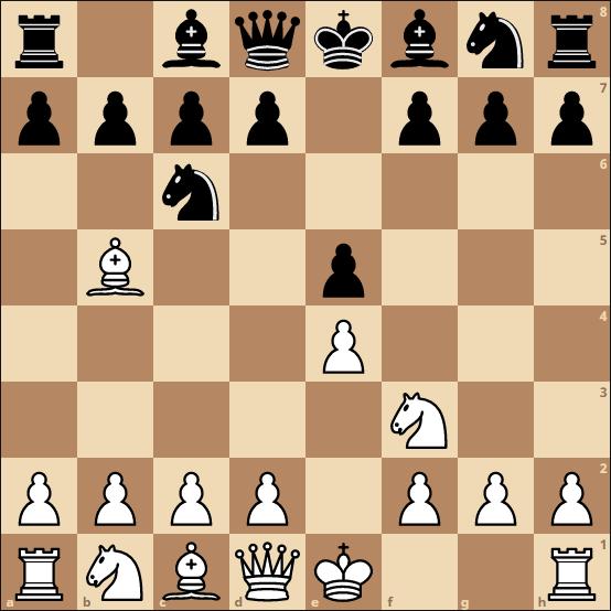 schach eröffnung - spanische partie