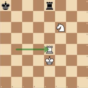 Das Schach wird geblockt