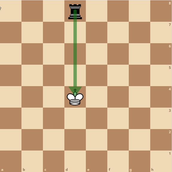 Schach König - im Schach
