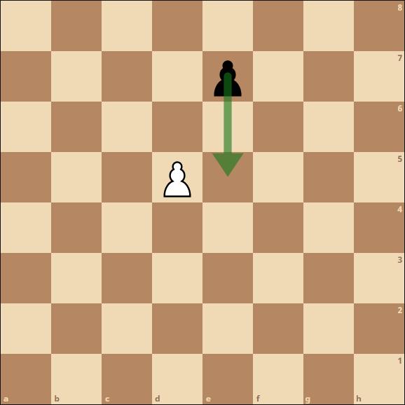 Schach - En Passant Schlagen (Doppelzug)