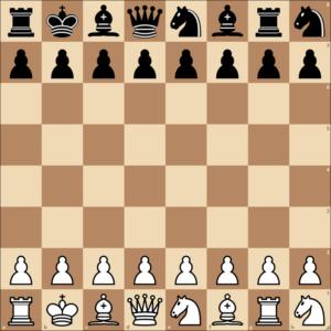 Schach960 - Eine mögliche Aufstellung